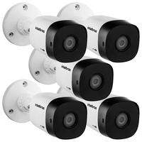 Kit 5 Câmeras Multi Hd 1 Megapixel 3.6mm 10m Vhd 1010 B G6 Intelbras
