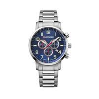 Relógio Masculino Wenger Attitude Chrono Azul