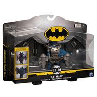 Batman  Figura De Luxo 10 Cm Com Armadura - Sunny Brinquedos