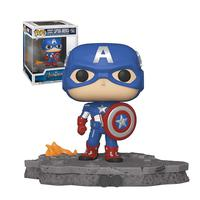 Funko Pop Marvel Deluxe Avengers Assemble - Captain America 589