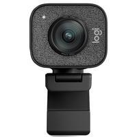 Webcam Logitech Streamcam Plus Full Hd Resolução 1080p Áudio Estéreo Com Microfones- 960-001280