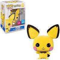 Funko Pop Pokemon S3 Pichu Flocked Se 579
