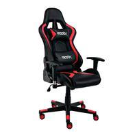 Cadeira Gamer Moobx Thunder Preto E Vermelho