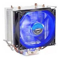 Cooler Universal Led Azul Vermelho Intel Amd Fan 1150 1151 Am3 Am4 Dx-9000