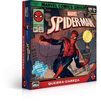 Quebra Cabeça Cartonado Spider Man 500 Peças
