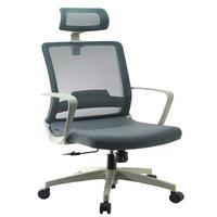 Cadeira De Escritório Presidente Executiva, Luxo Cinza, Toronto, Conforsit - 5000