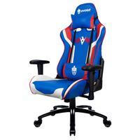 Cadeira Gamer Eg-920 Heroes Azul, Branca e vermelha