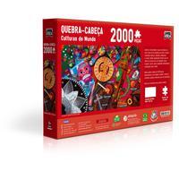 Quebra Cabeça 2000 Peças Culturas Do Mundo - Mexico
