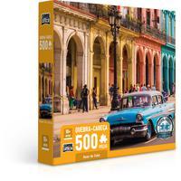 Quebra Cabeça 500 Peças Ruas De Cuba