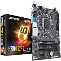 Placa Mãe H310M, Gigabyte, Intel, LGA 1151, M.2, Micro ATX - H310M-S2P-2.0