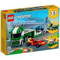 Lego Creator 3 Em 1 - Transportador De Carros De Corrida - 31113