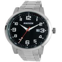 Relógio Masculino Magnum Analógico Ma32925t - Prata