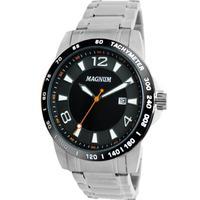 Relógio Masculino Magnum Ma33086t Prata