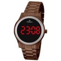 Relógio Feminino Champion Digital Ch48046r - Marrom