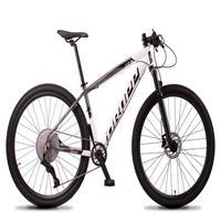 Bicicleta Aro 29 Dropp Z7x 12v Absolute, C/trava E Fr. Hidra - Cinza/branco - 19''