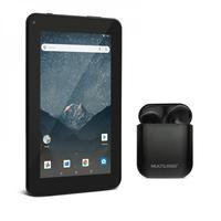 Combo High Tech - Tablet Multilaser M7s Go Wi-fi 7 Pol. 16gb Android 8.1 E Fone De Ouvido Tws Airbud Preto - Ph358k