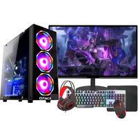 """PC Gamer Completo Fácil Intel I5, Terceira Geração, 8GB, Placa De Vídeo GTX 750 4GB, HD 500GB, Monitor 19"""""""