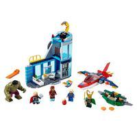 Lego Marvel Vingadores Ira De Loki Ref.76152