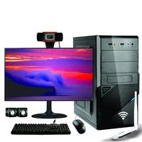 Computador Completo Icc Intel Core I5 8gb Hd 2tb Monitor 19 Adaptador Usb U1 N300 Webcam V5 720p
