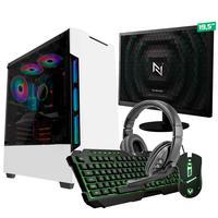 Kit - Pc Gamer Start Nli82895 Amd 320ge 16gb vega 3 Integrado Ssd 240gb + Monitor 19,5