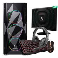 Kit - Pc Gamer Start Nli82888 Amd 320ge 16gb (vega 3 Integrado) 1tb + Monitor 19,5