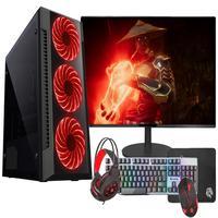 "Pc Gamer Completo Fácil Intel Core I7 3.4ghz 8gb Hd 1tb Gtx 750 4gb Monitor 21"" Hdmi Led Teclado E Mouse Gamer"