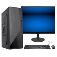 "Computador Fácil Intel Core I7 3.4ghz 8gb Ssd 240gb Monitor 21"" Hdmi Led Teclado E Mouse"
