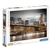 Puzzle 1000 Peças New York Skyline - Clementoni - Importado
