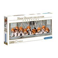 Puzzle 1000 Peças Panorama Beagles - Clementoni - Imp