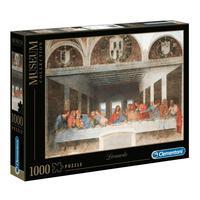 Puzzle 1000 Peças Leonardo - A Última Ceia - Clementoni - Importado