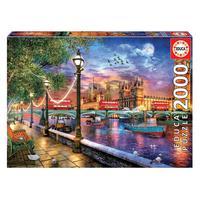 Puzzle 2000 Peças Londres Ao Entardecer Educa