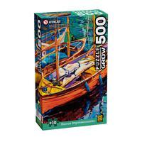 Puzzle 500 Peças Barcos Impressionistas