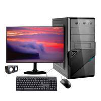"Computador Desktop Corporate I7 10ª Geração 8gb Ddr4 Hd 500gb Kit Multimidia Monitor 19,5"""