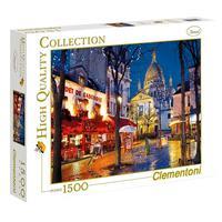 Puzzle 1500 Peças Paris, Montmartre - Clementoni - Importado