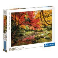 Puzzle 1500 Peças Parque No Outono - Clementoni - Importado